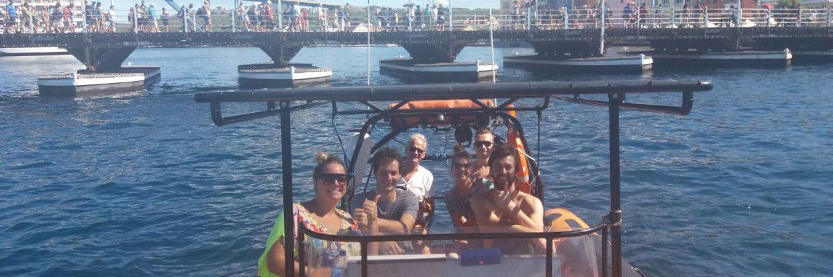 Punda tour with Powerboat Caribbean